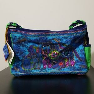 🕷️*Laurel Burch* Blue dog purse